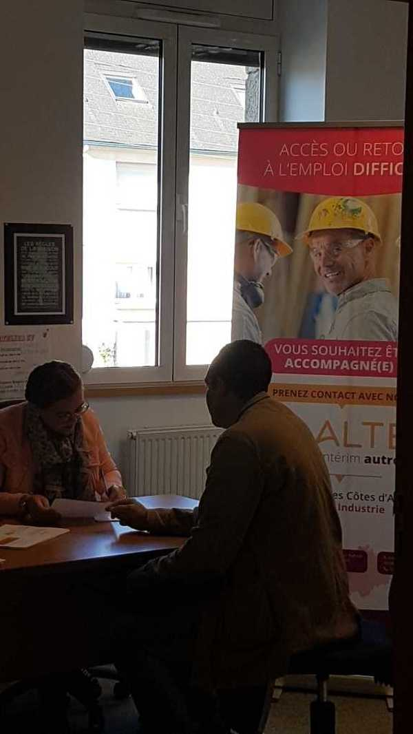 Opération de recrutement - Secteur du bâtiment - Saint-Brieuc ope3